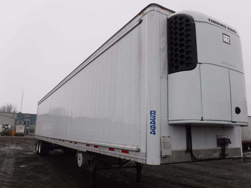 Wabash 2013, 53′, 2 essieux, Multi-température