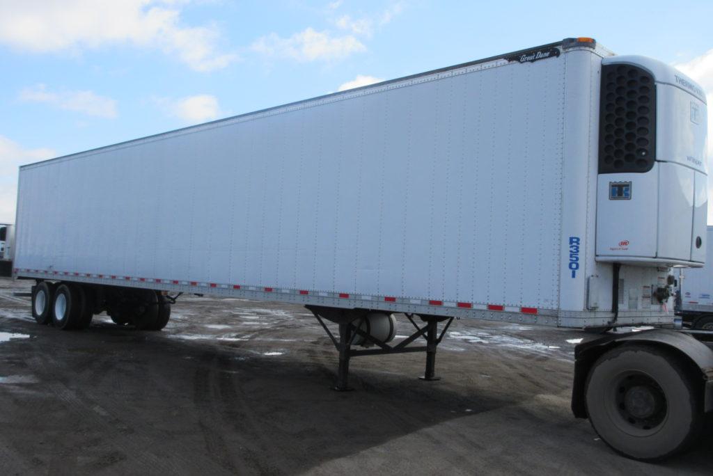 Great Dane 2011, 53′, 2 essieux